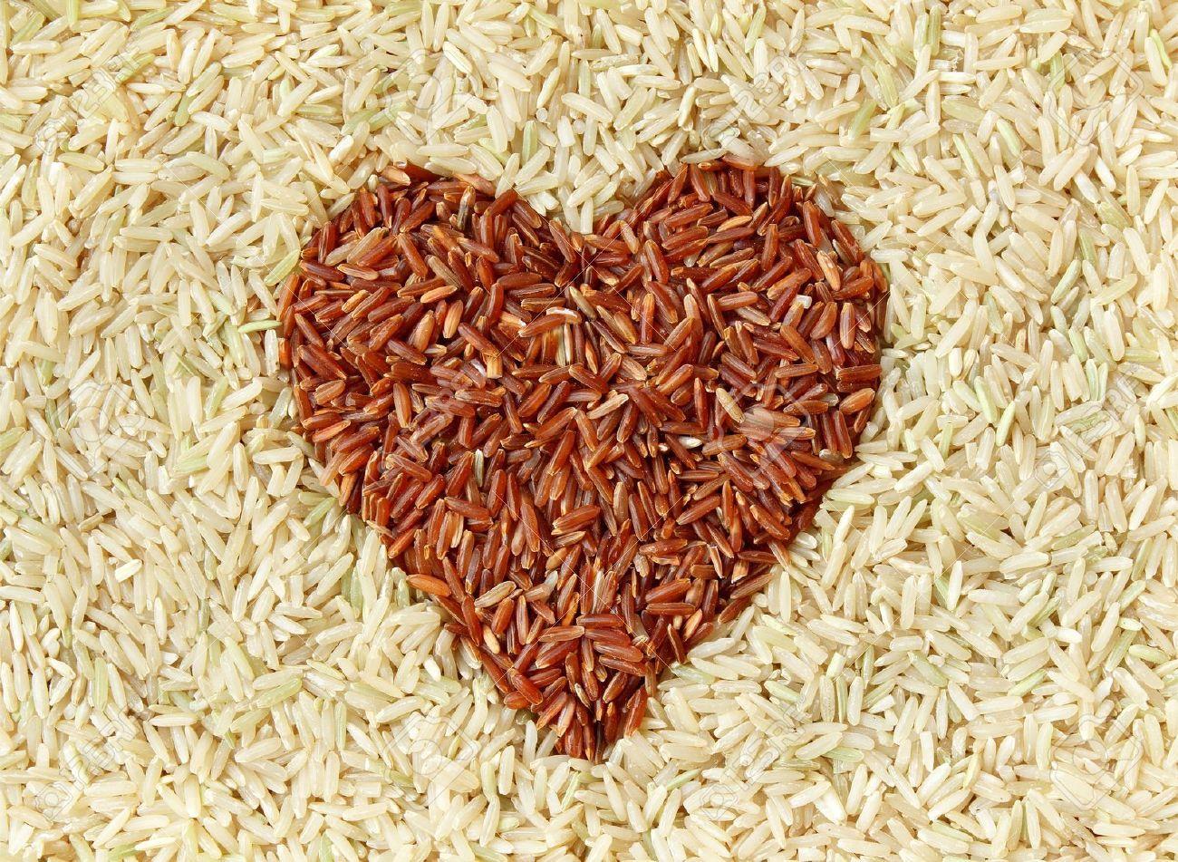 Почему рис коричневый