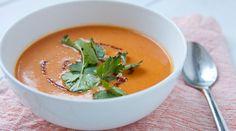 Веганский рецепт: Морковный суп с ягодами Годжи, апельсином и имбирем