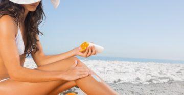 Солнцезащитный крем факты: как не обжечься этим летом