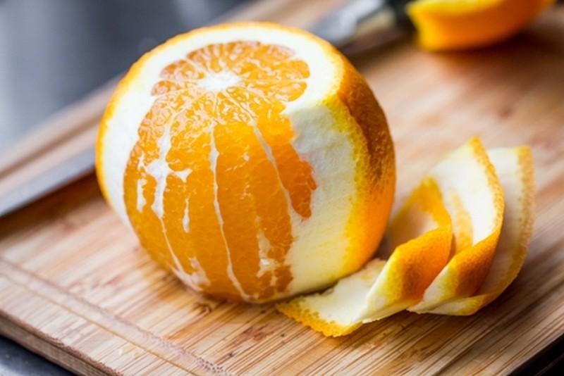 Польза очищения легких от апельсиновой кожуры