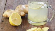 Лимонный сок детоксицирует печень