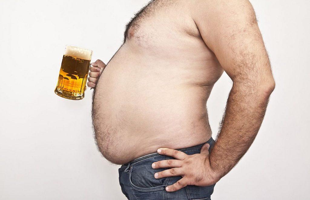 Как убрать пивной живот? Простые советы