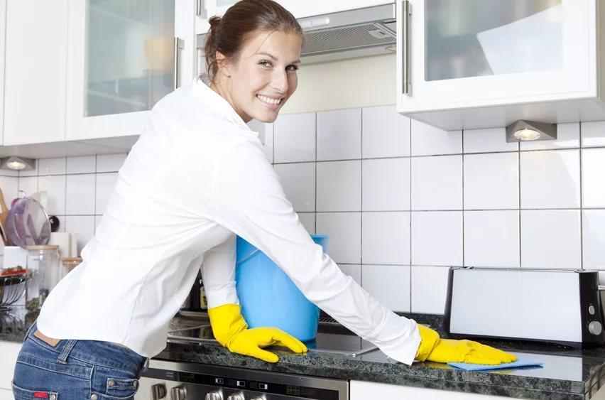 Как естественно продезинфицировать вашу кухню от микробов и бактерий