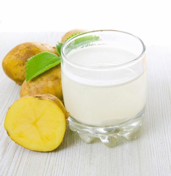 Как использовать картофельный сок для роста волос?