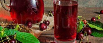 Польза вишневого сока для кожи, волос и здоровья